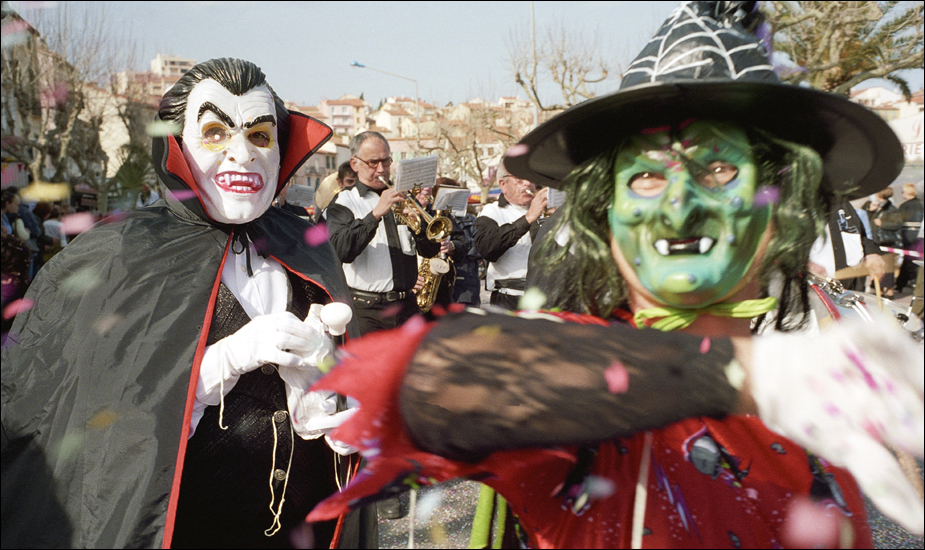 Dracula och demonerna spelar upp till dans