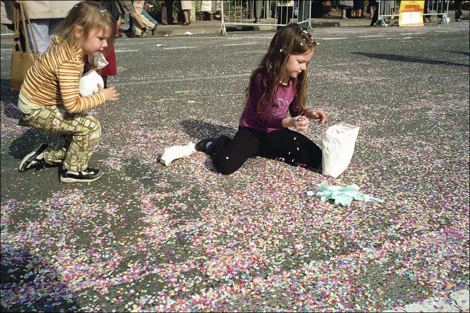 Festivalfinal med fanfar och konfetti i änglahår
