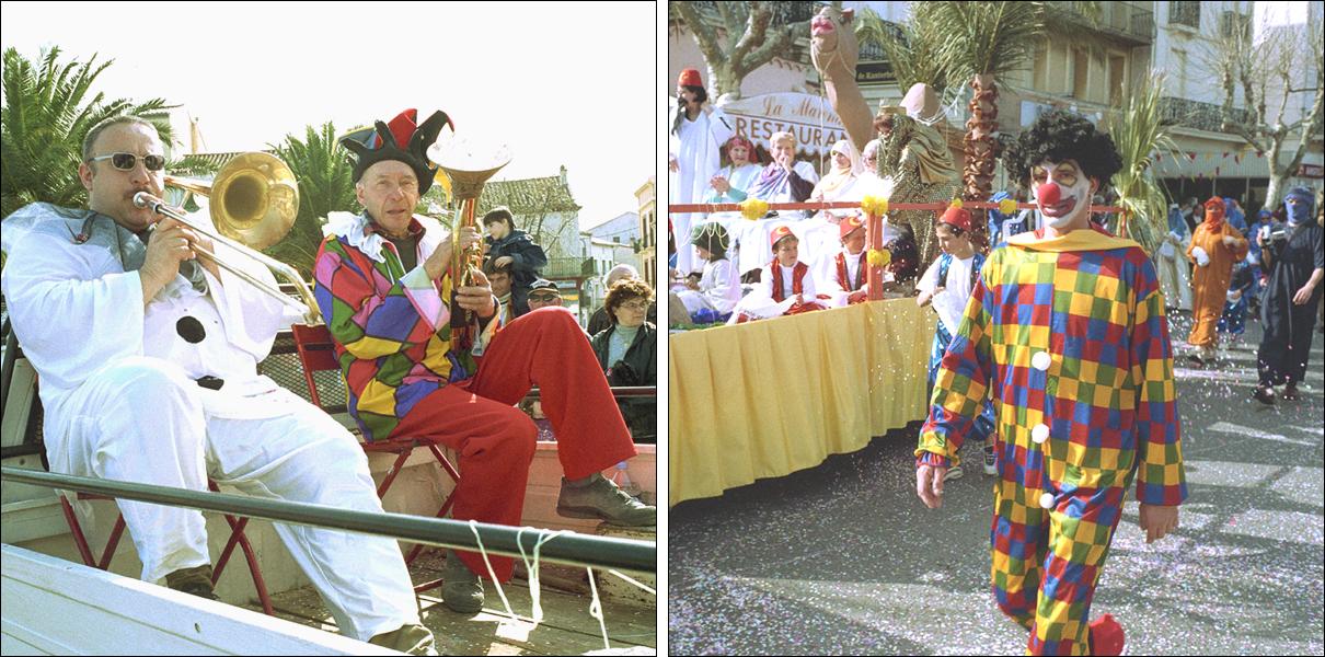 Spelemän i karnevalstämning