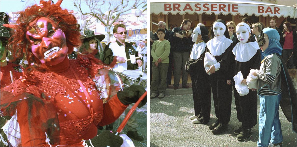 Mefistofeles bjuder upp till karnevalsyr dans